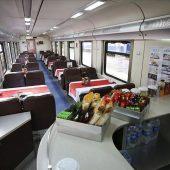 """رحلة """"إكسبرس الشرق السياحي"""" تنطلق لأول مرة من محطة قطارات أنقرة"""