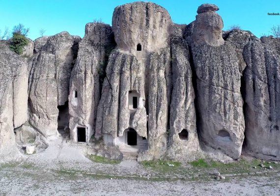 Ancient city Kilistra home to fairy chimneys